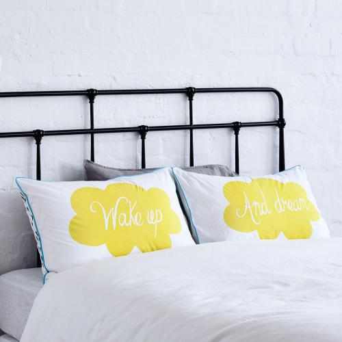 Wake up pillow case